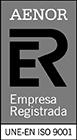 Logotipo Aenor ISO 9001